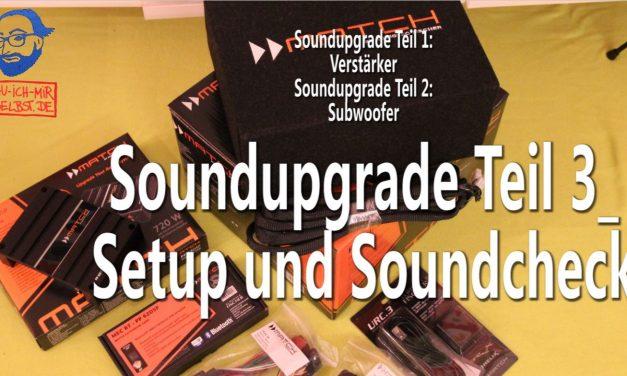 (unser neuer) VW T5 Sound im Soundcheck – Soundupgrade Teil 3/3